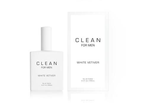 CLEAN for Men White Vetiver &  Black Leather Eau de Toilette News