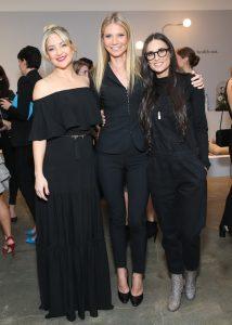 Kate Hudson, Gwyneth Paltrow, Demi Moore, wearing La Perla