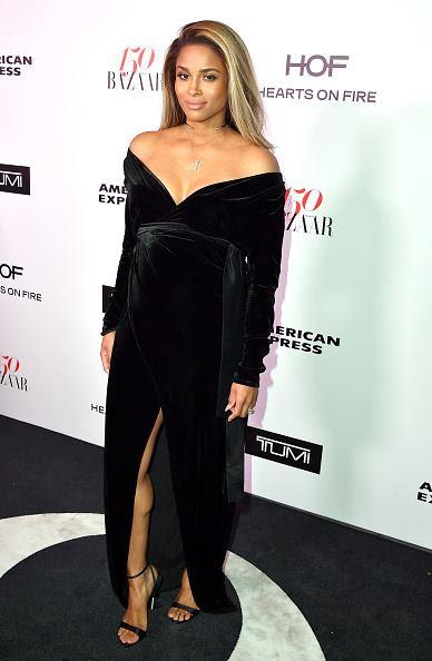 Ciara Star Style At Harper's Bazaar Celebration