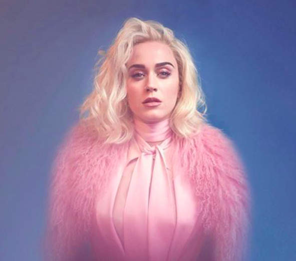 Katy Perry Rocks Styland Pink Suit for new single Chained to the Rhyhm