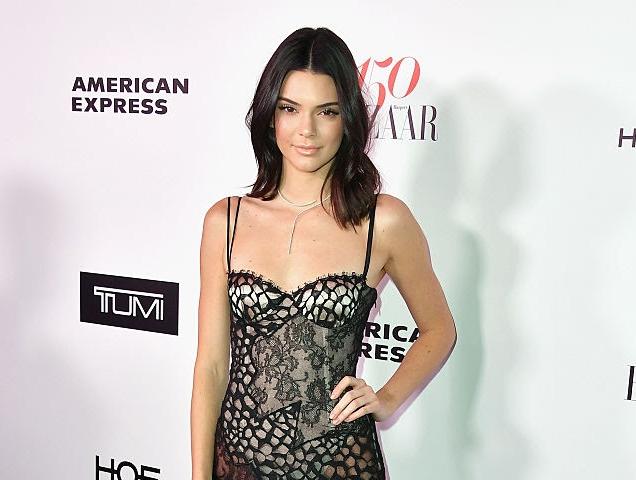 Kendall Jenner's Harper's BAZAAR celebration Red Carpet Moment