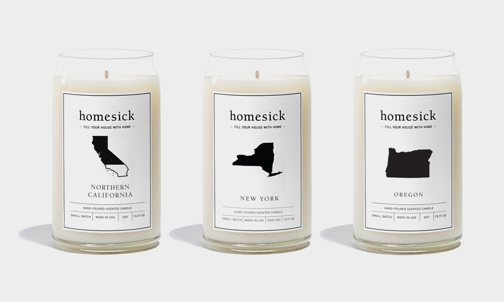 HomeSick Candles News
