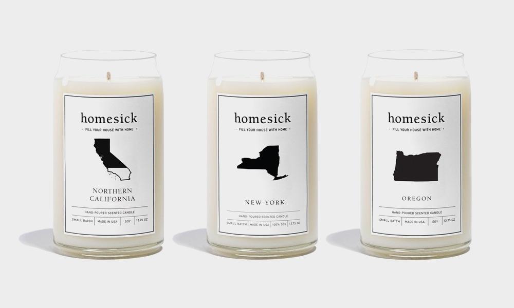 HomeSick Candles News