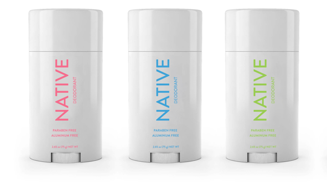 Native's Natural deodorant For The Man In Your Life