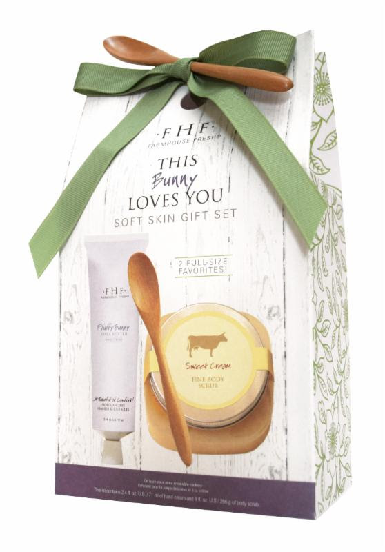 Mother's Day, FarmHouse Fresh introduces This Bunny Loves You gift set