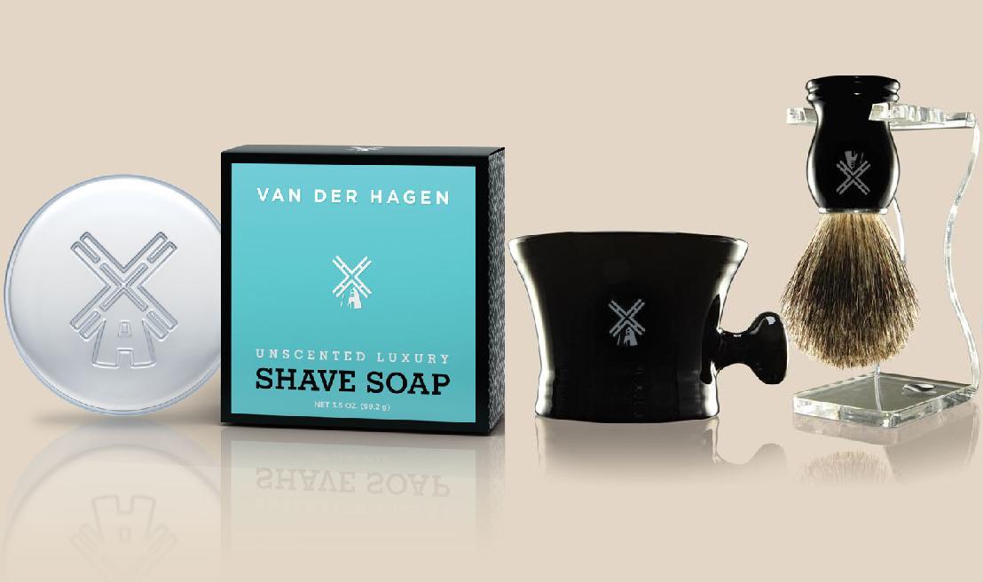 Men's Soap, VAN DER HAGEN Unscented Shave Soap Just right for him