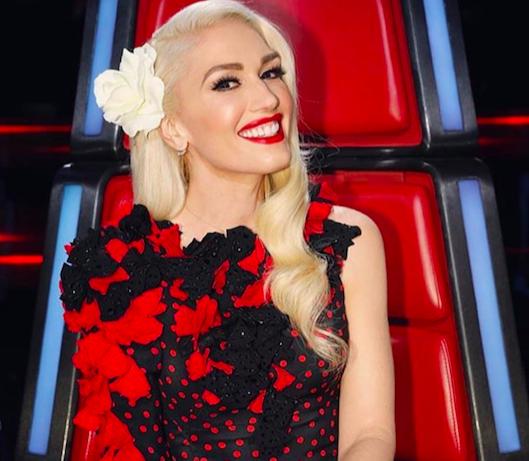 Gwen Stefani Rocks Hearts on Fire diamond earrings