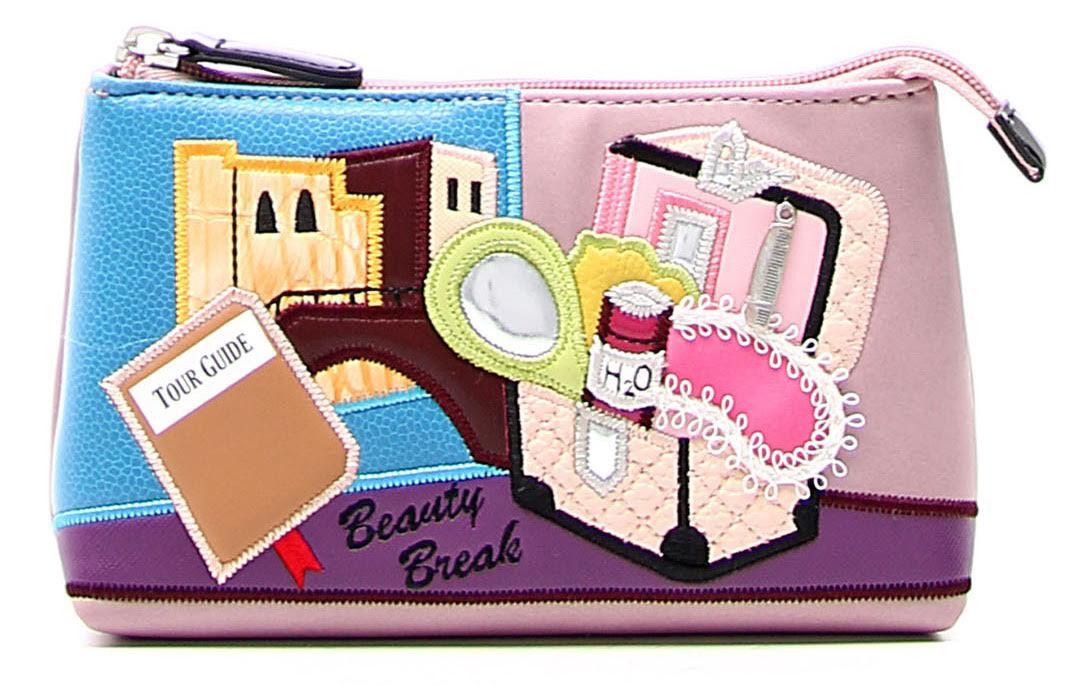 Artful, Fun Cosmetics Bags That Won't Bore By Braccialini & TUA
