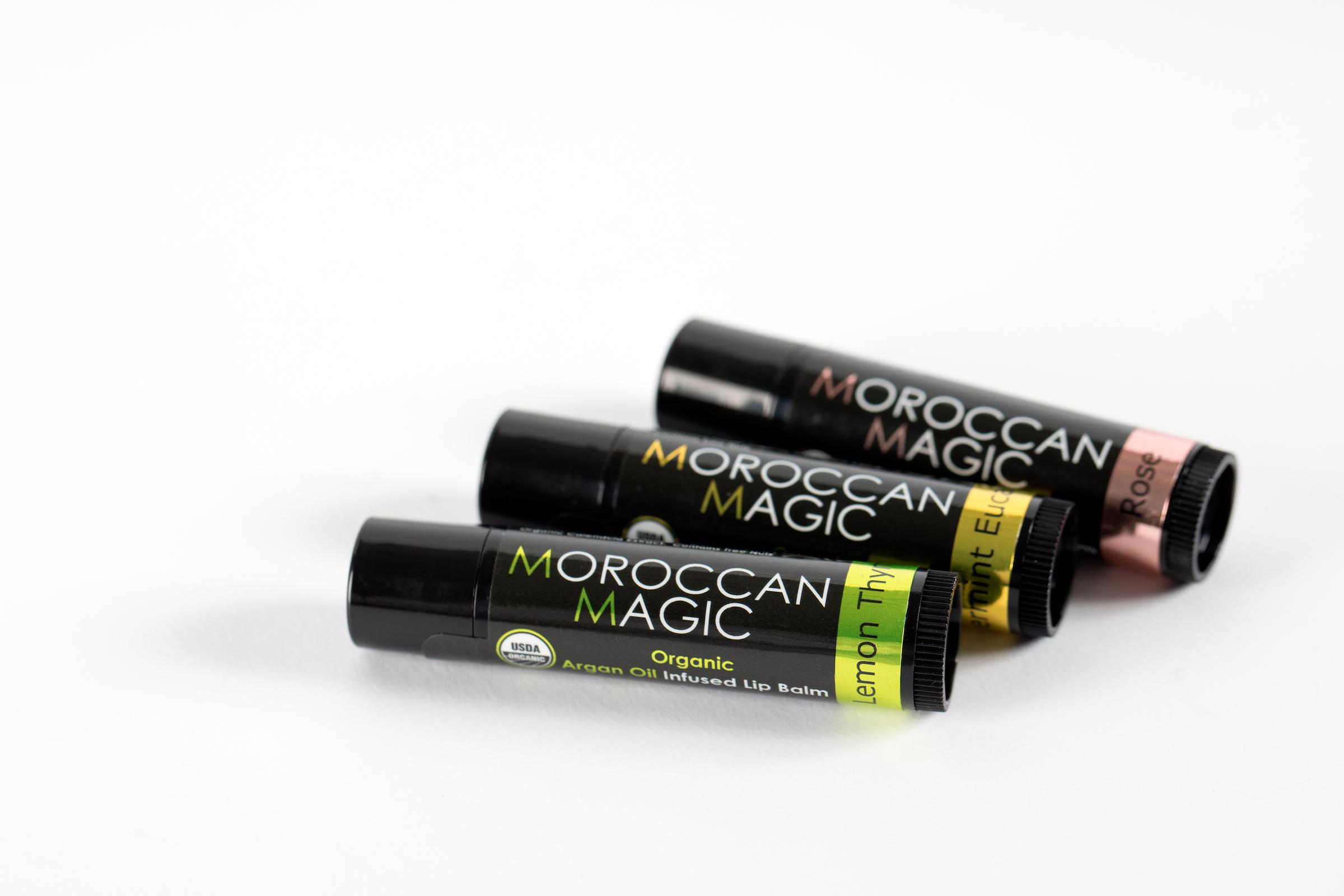 Moroccan Magic Organic Argan Lip Balm for All Seasons