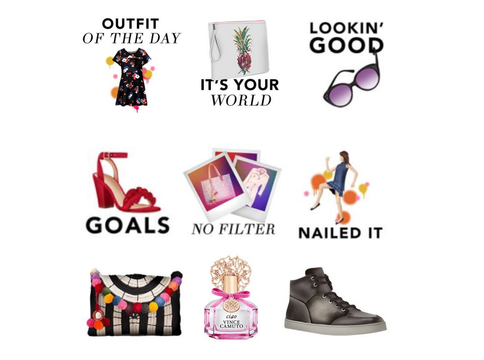 Vince Camuto Launches New Vince Camuto Sticker App