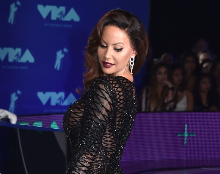 Amber Rose, Butani Diamond Earrings, Her style at MTV Video Music Awards
