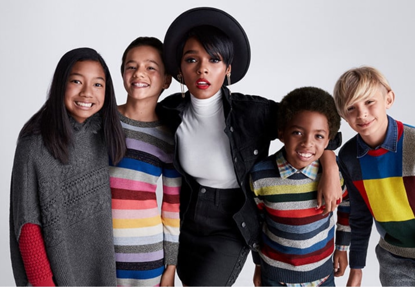 Janelle Monáe Celebrates Family Togetherness with Gap Style