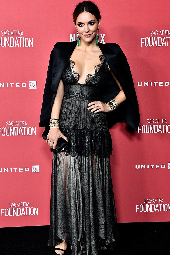 Katharine McPhee Red Carpet SAG-AFTRA Foundation Style