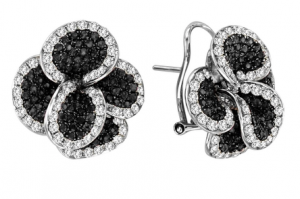 black diamond earrings jennifer lopez