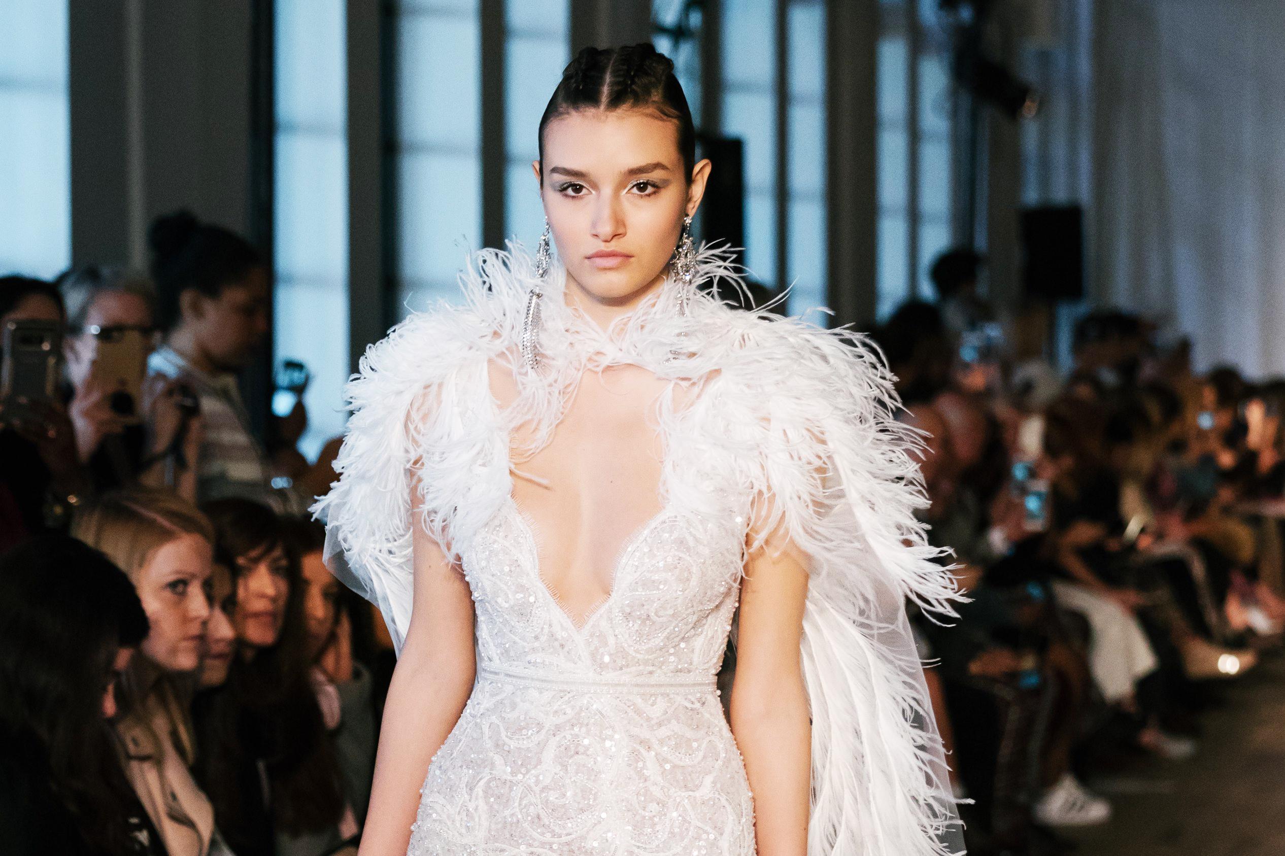 BERTA Debut's 2019 Spring Summer Wedding Collection