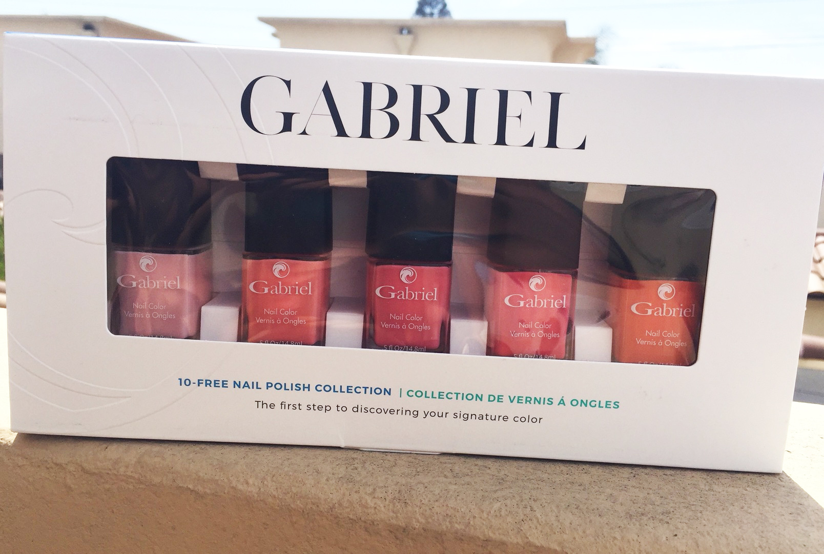 Gabriel 10 FREE Nail Polish Collection