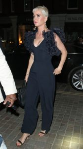 Katy Perry wore Maxior earrings while out in London