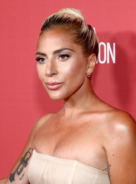 Lady Gaga's Red Carpet Morganite diamond earrings we adore