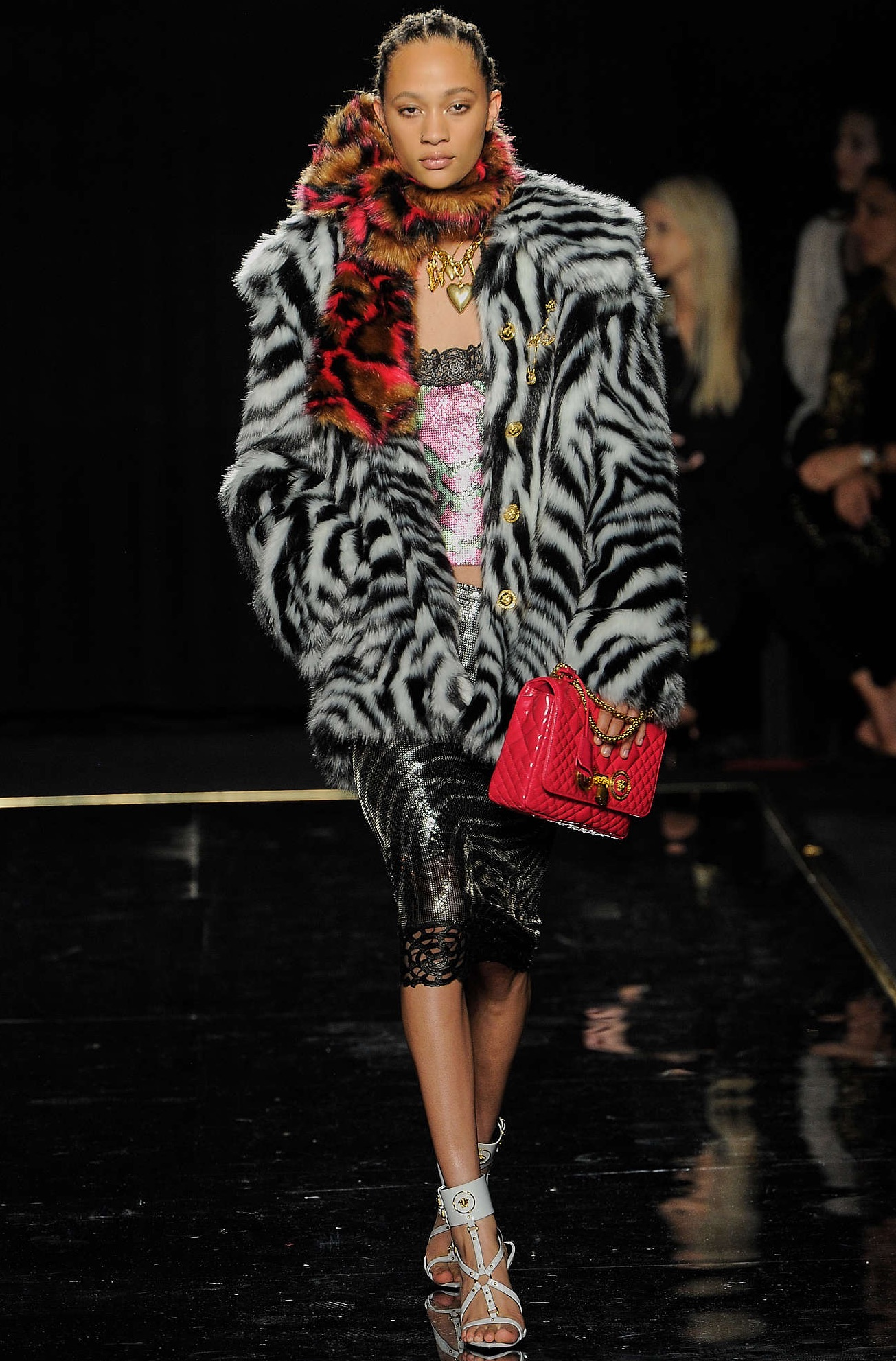 Versace Pre Fall 2019 collection is colorful, fun, exciting
