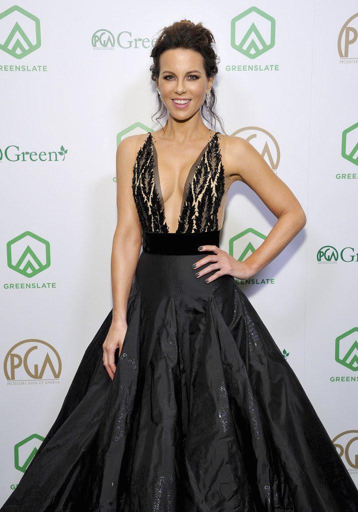 Kate Beckinsale wore Marli New York
