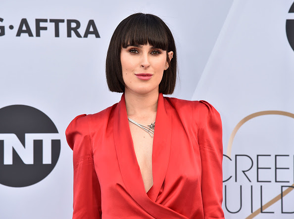 Rumer Willis Red Carpet Diamond Style