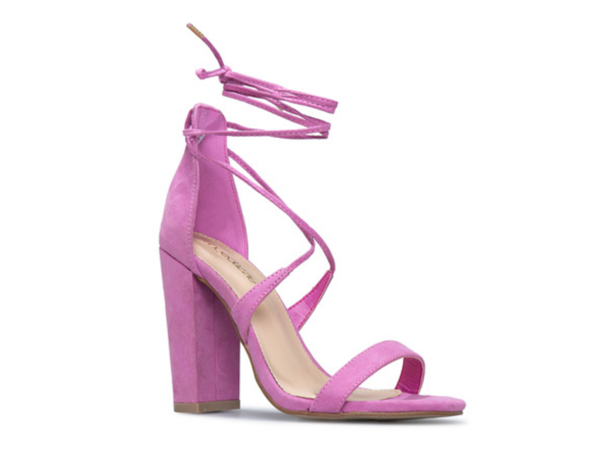 Rock Ava Ankle Wrap Block Heel This Mother's Day Designed By ShoeDazzle