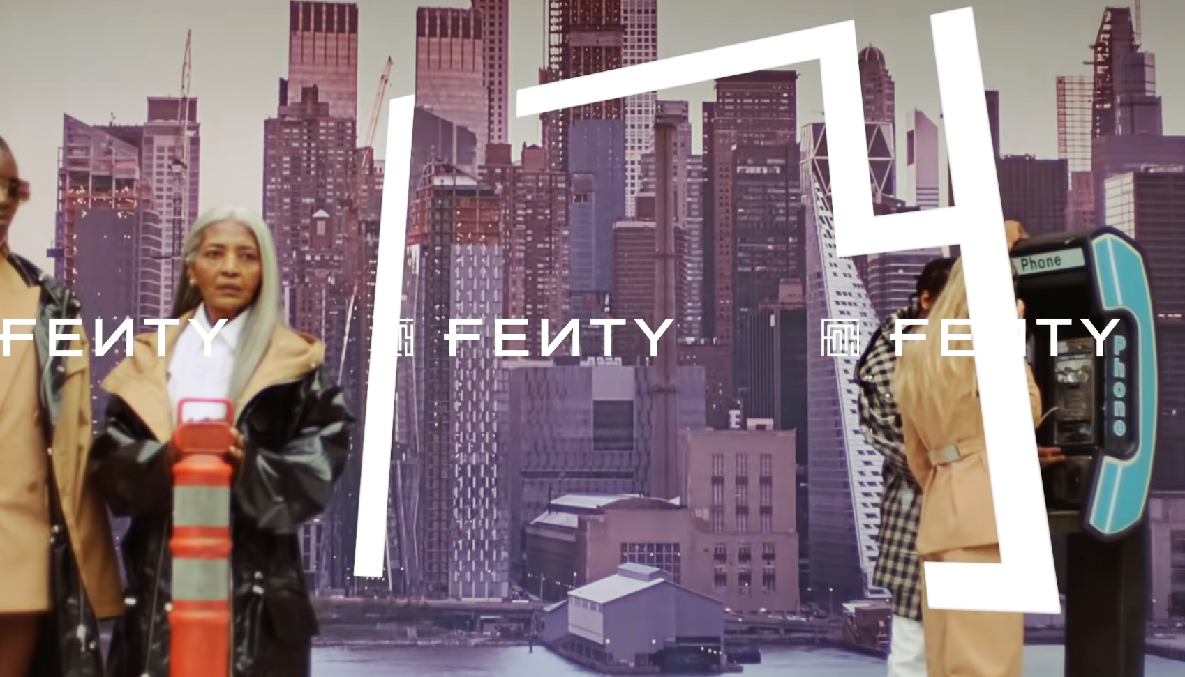 Rihanna, Fenty, Her first Collection Live on Video