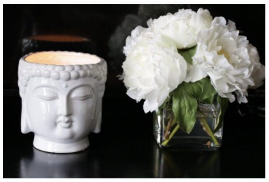 Buddha White 40oz Scented Candle