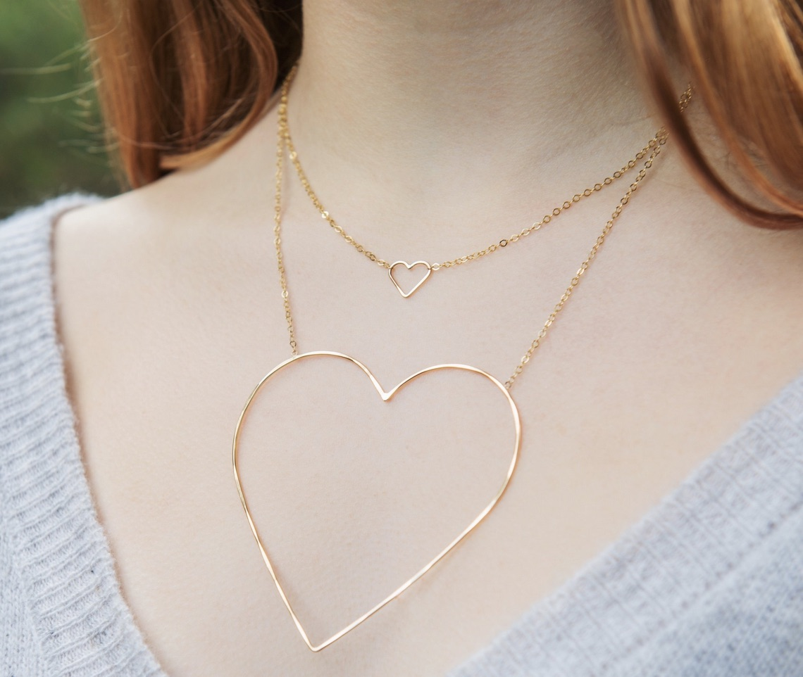 Mother's Day, The Gift of The Collective Hearts Necklace