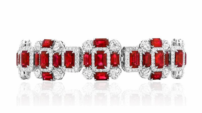 Red Ruby Jewelry Glam Styles by Valani Atelier