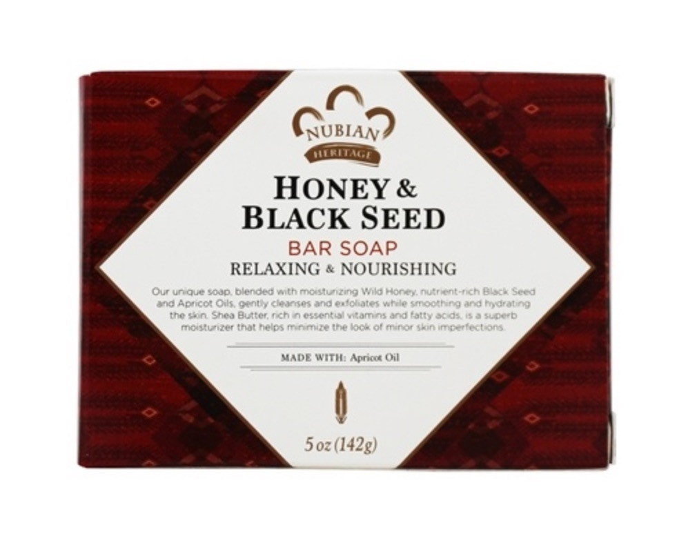 Nubian Heritage Bar Soap Honey & Black Seed Is Awesome