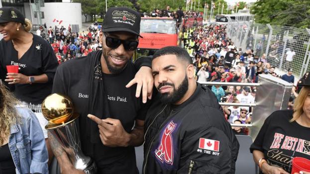 Drake, NBA Raptors, Alpha Industries Bomber Style