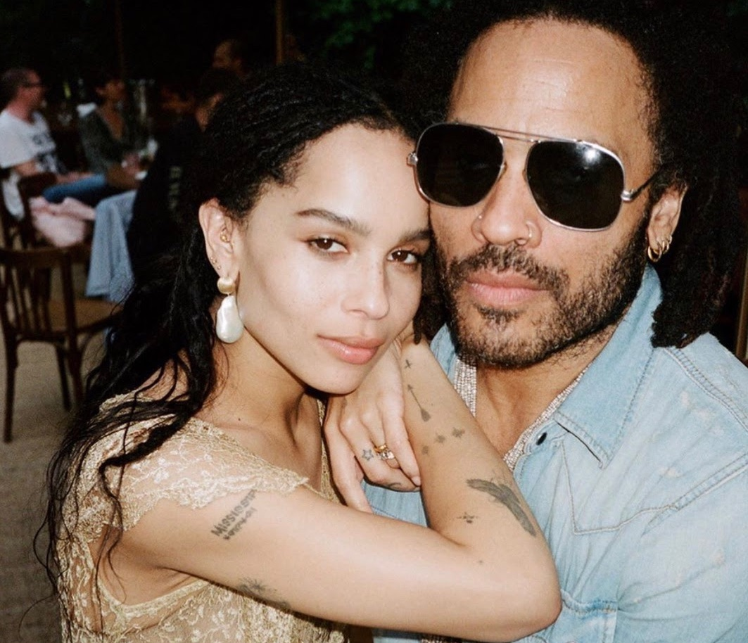 Zoe Kravitz, Baroque Pearl Earrings we Adore