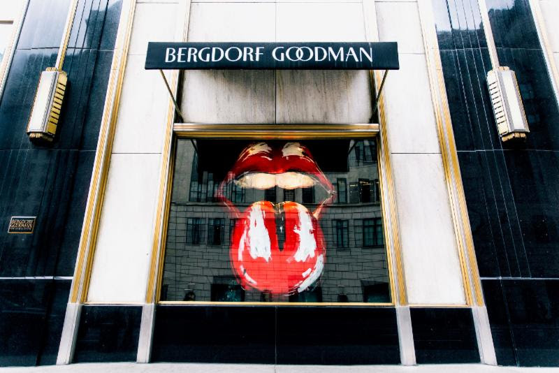 The Rolling Stones Exclusive Retail Experience at Bergdorf Goodman