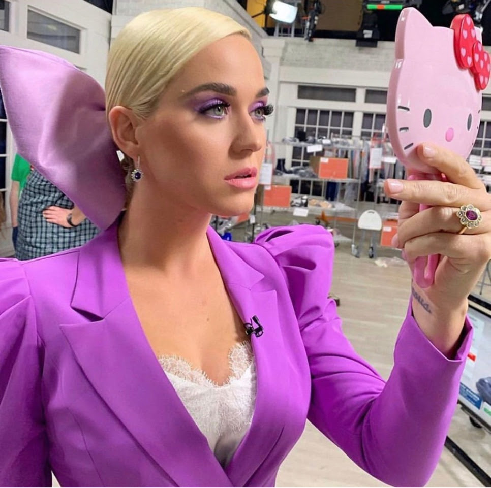 Katy Perry launched new shoes for her collection on QVC