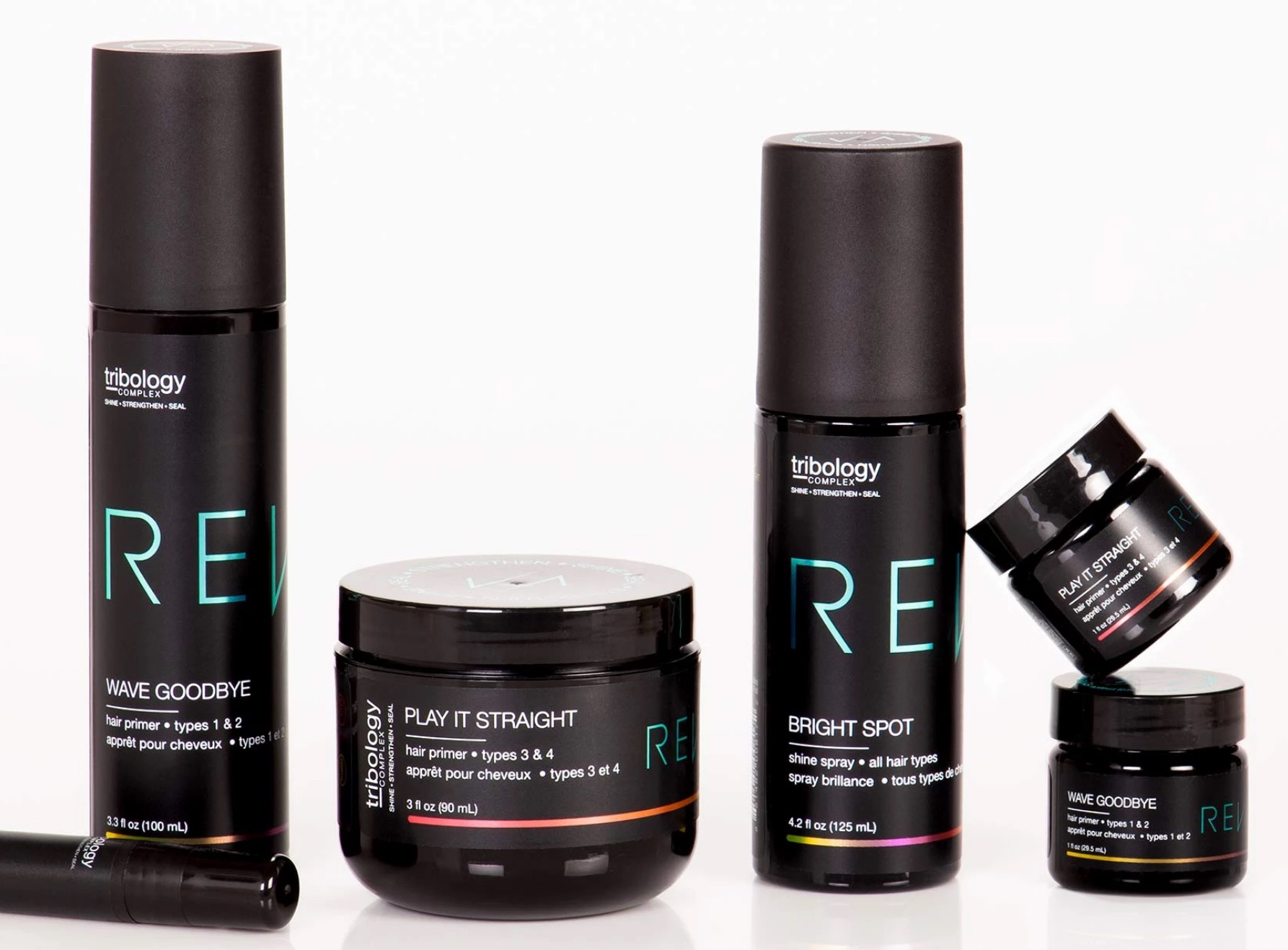 Hair Styling with Tribology Complex 101 Is Easy