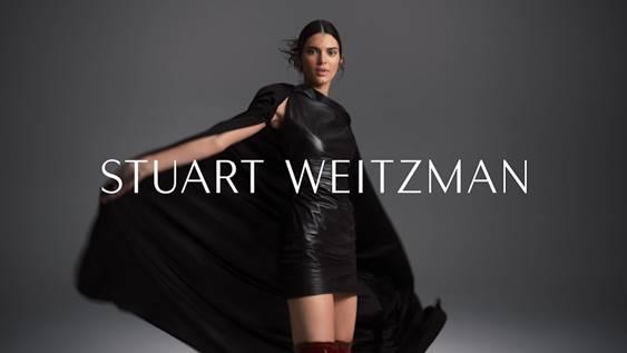 Stuart Weitzman Campaign Featuring Kendall Jenner