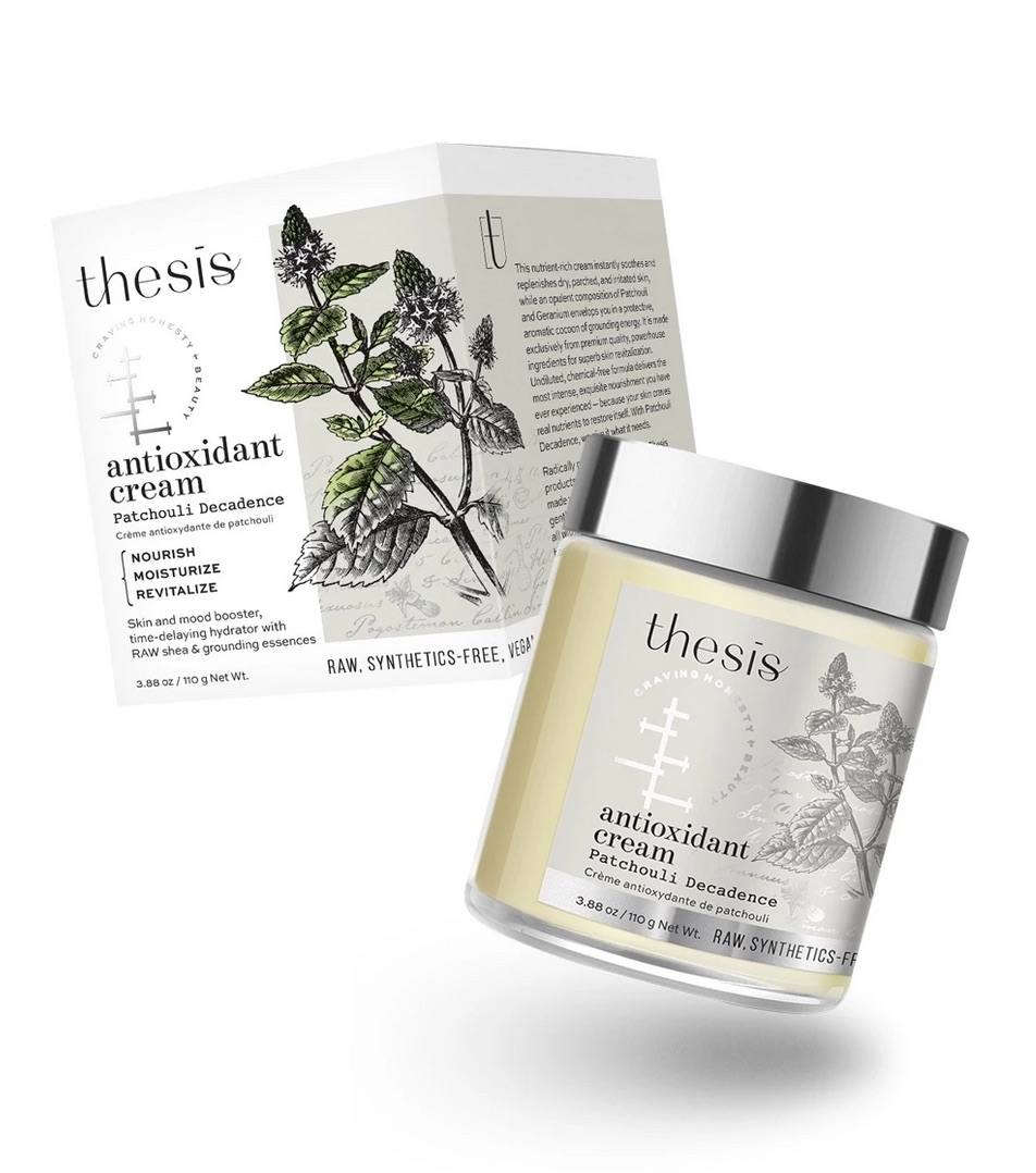 Thesis Body Cream Patchouli Great For Hair & Nails