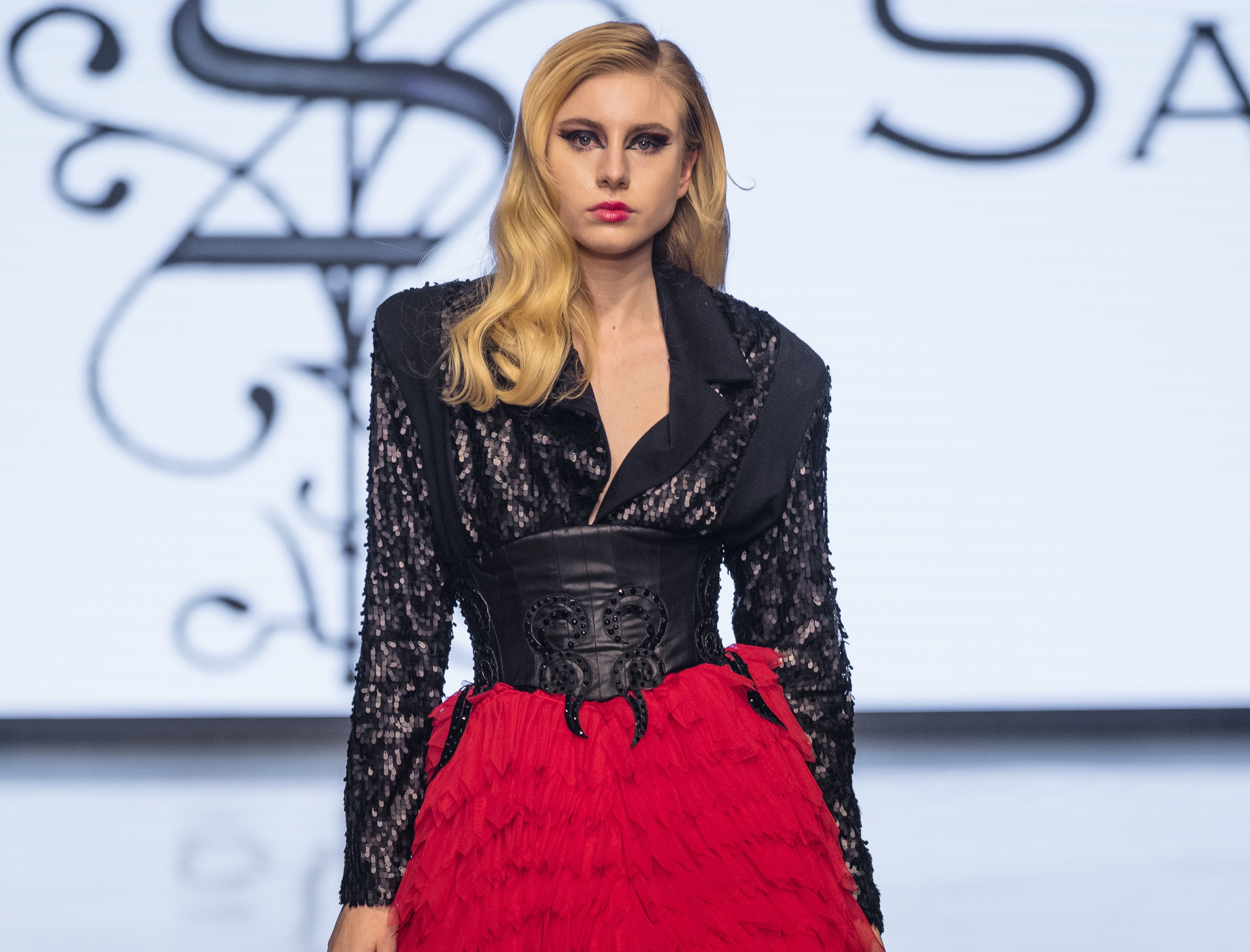 "Adolfo Sanchez Presents the ""Mordida"" collection at LAFW"