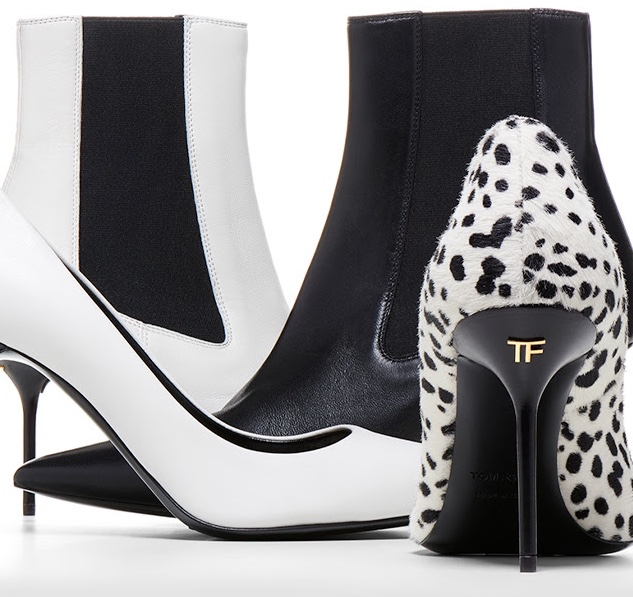 Tom Ford Black & White Fall Shoes