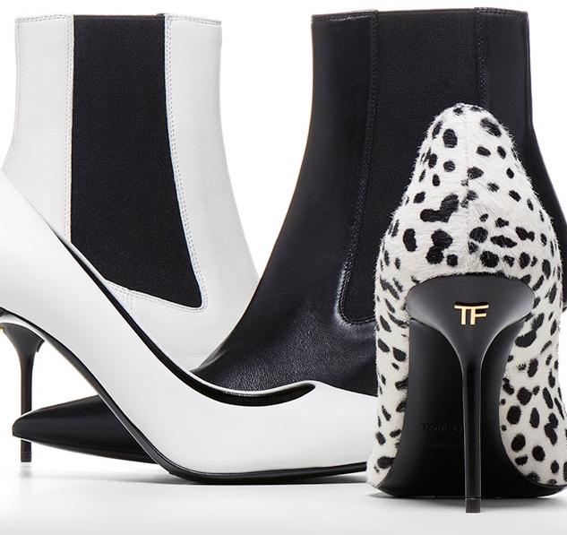 Tom Ford Black & White Fall Shoes