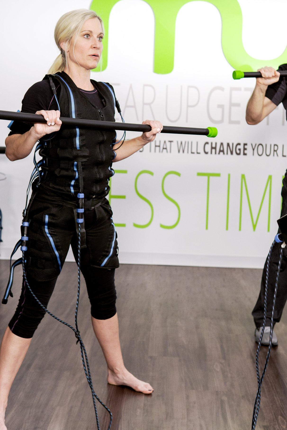 Electrical Muscle Stimulation Workout Celebrities Love!