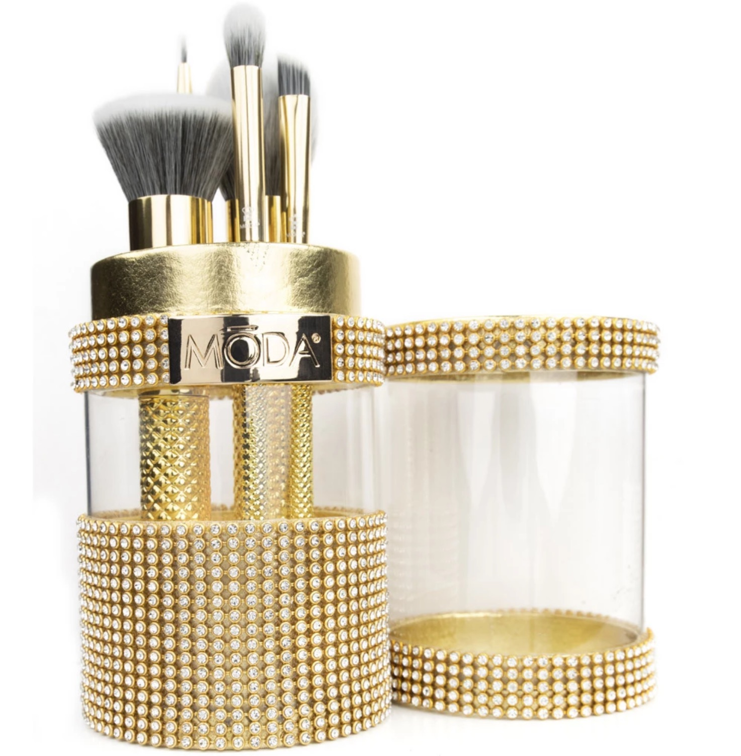 MŌDA Metallics 6pc Gold Full Face Kit, The Perfect Holiday Gift!