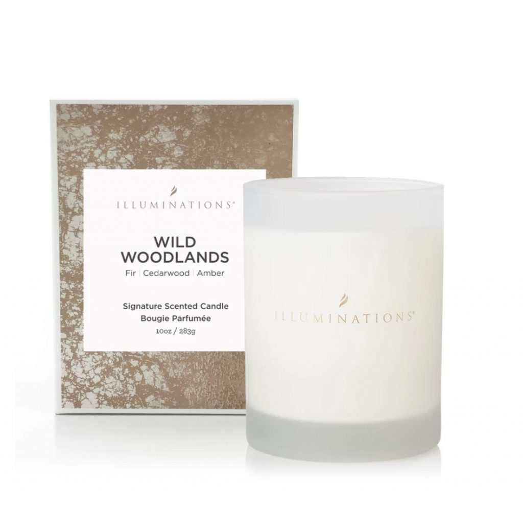Wild Woodlands Deluxe Signature Scented Candle