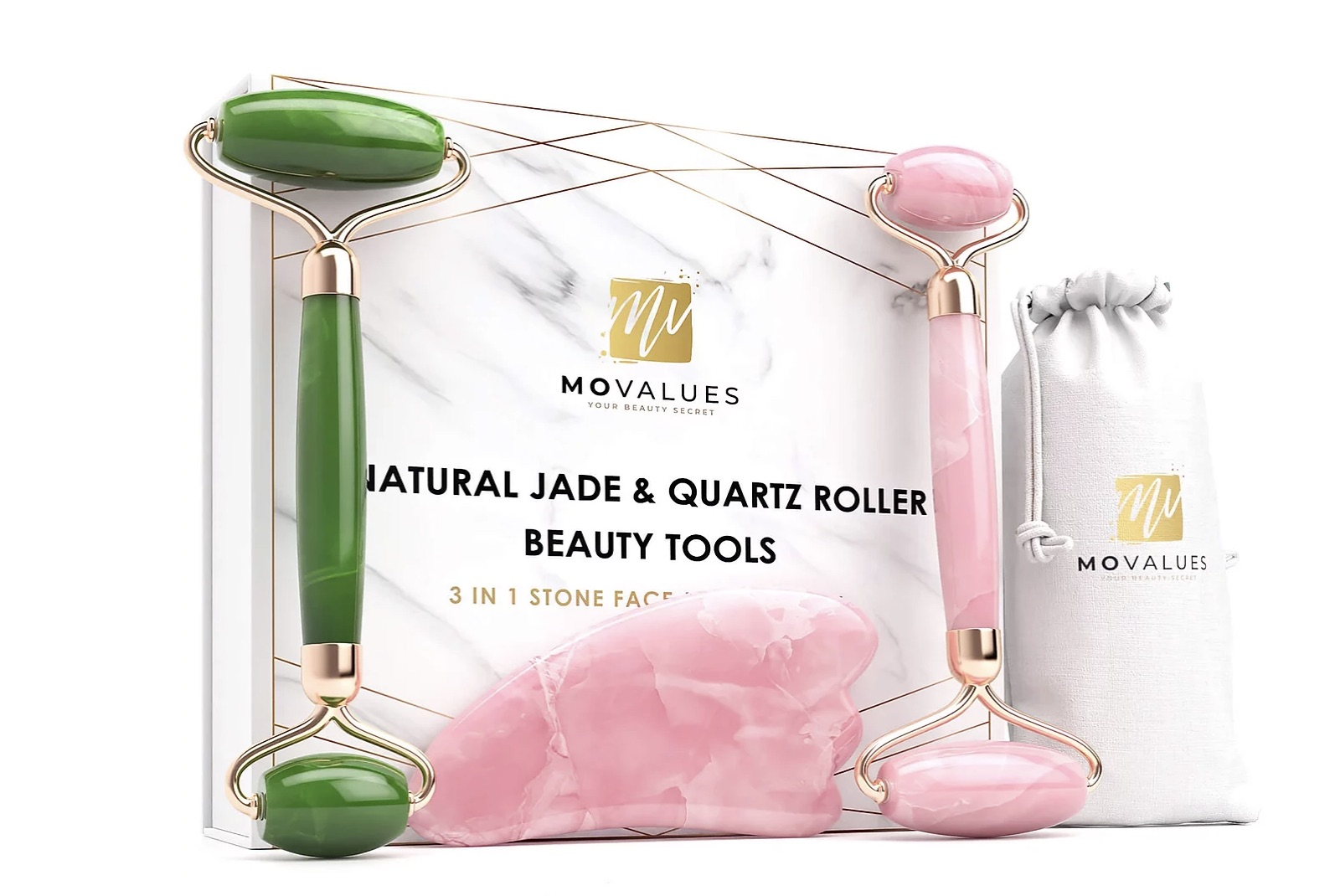 Crystals,Your Face, MoValues Beauty Secrets