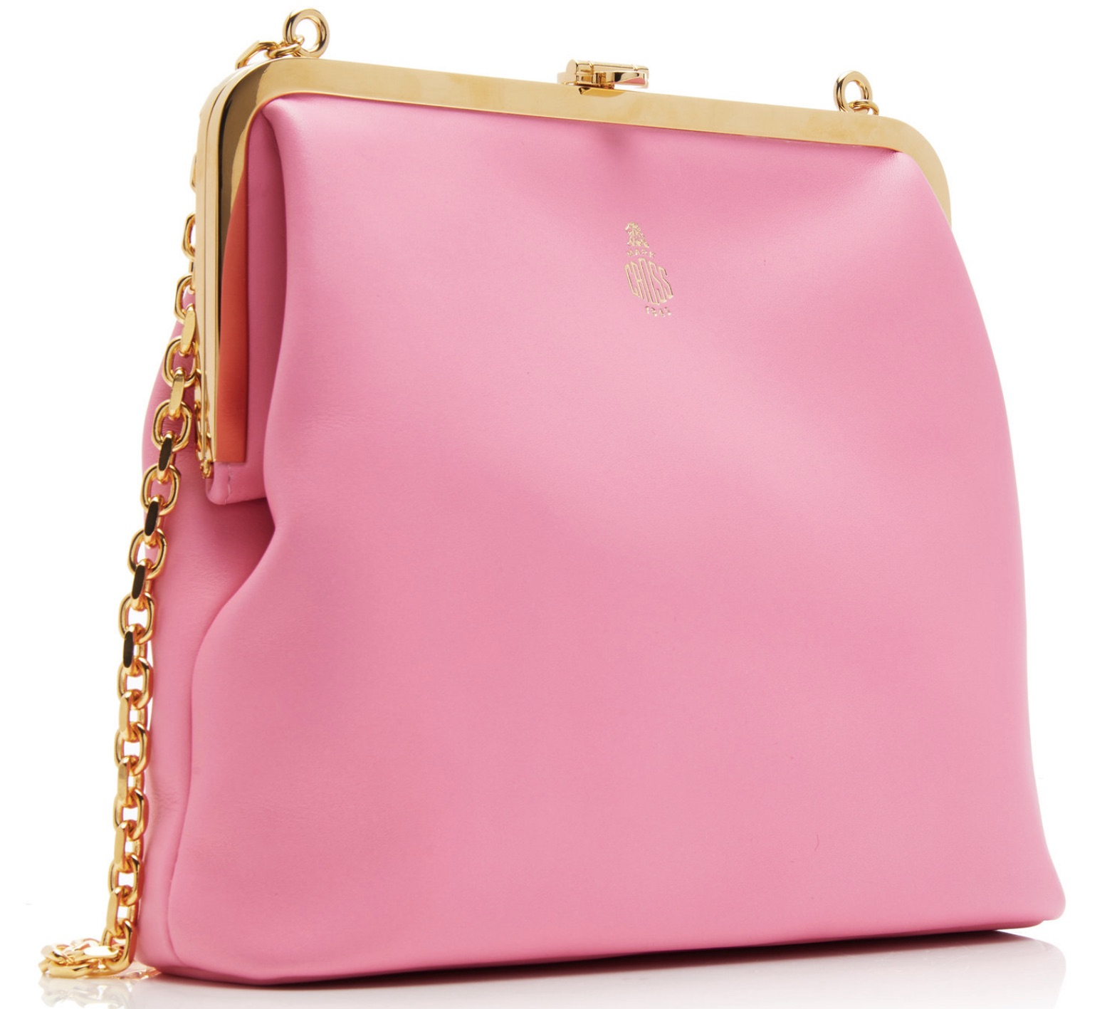The Pink Mark Cross Susanna Leather Shoulder Bag Must Have
