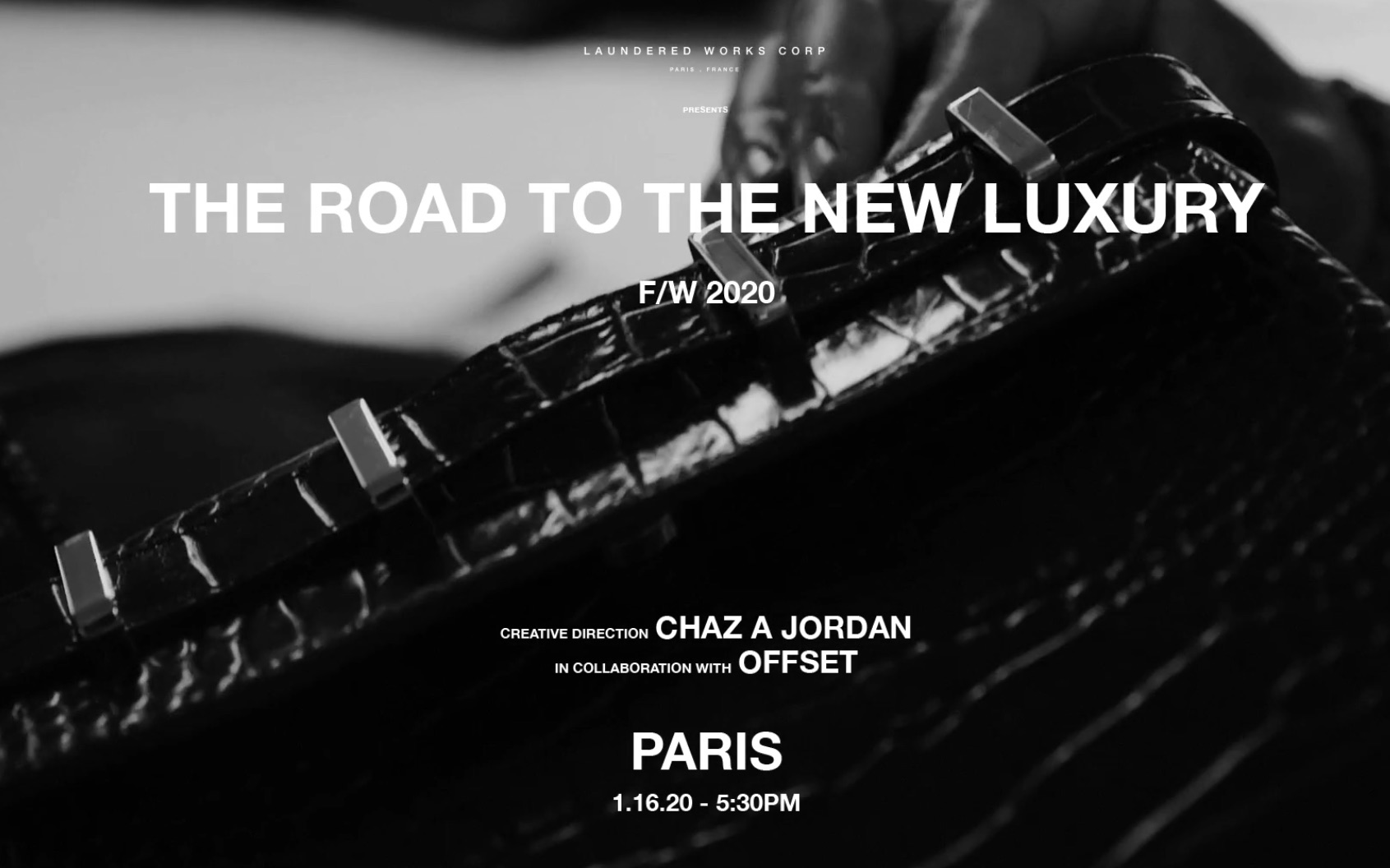Icon Offset to Debut Capsule Collection at Paris Fashion Week