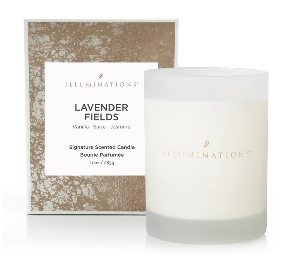 Lavender Fields Signature Scented Candle You'll Love