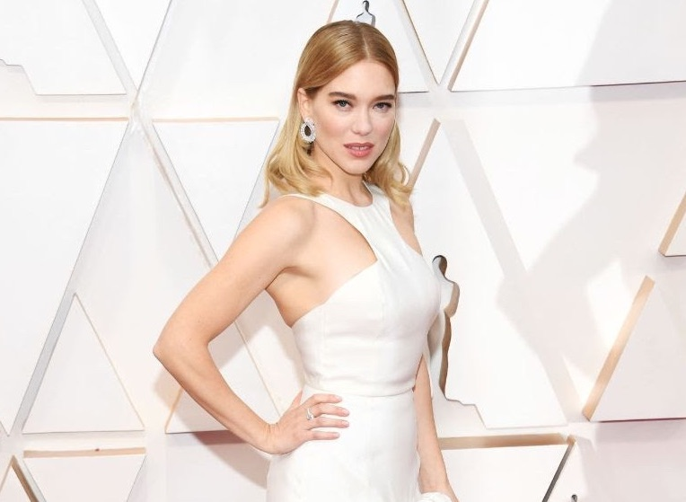 James Bond Spectre actress Léa Seydoux Red Carpet Oscar Style