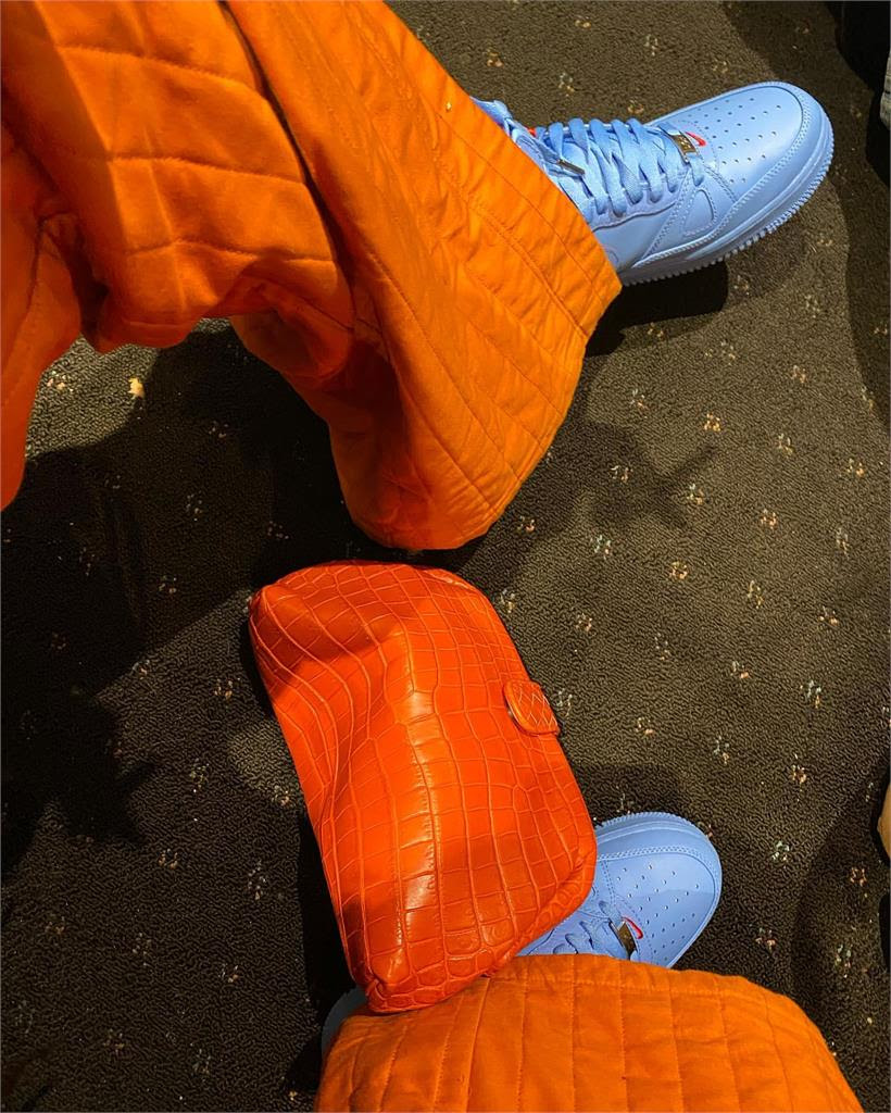 Rihanna The limited edition 'Just Don x Nike Air Force 1 Shoe We Like